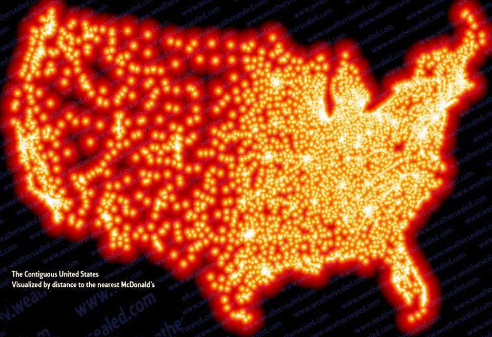 mcdonalds america heat map