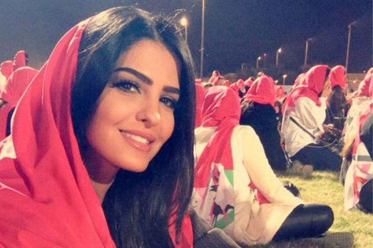 princess ameerah wearing headscarf