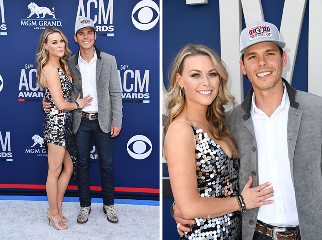Amber Bartlett Poses With Granger Smith