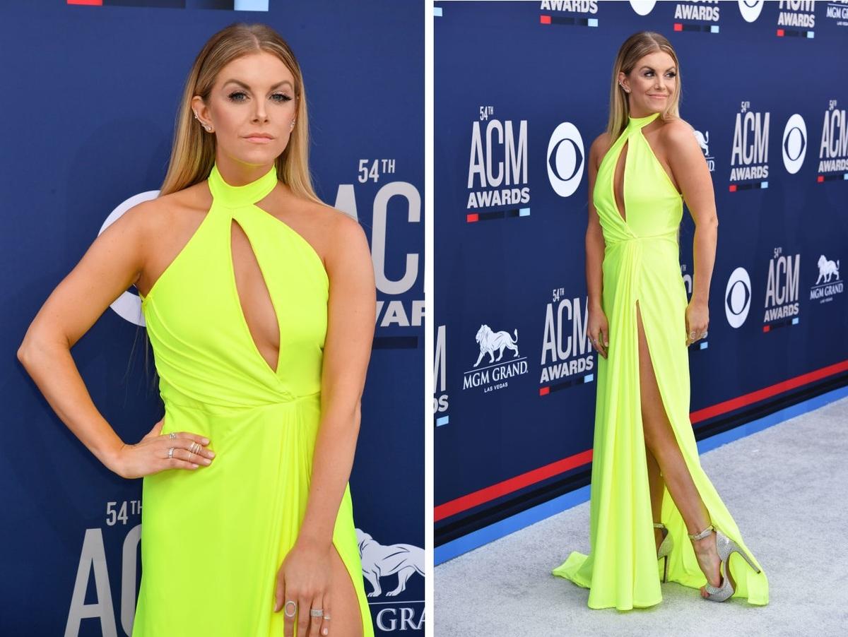 Lindsay Ell Shows Off Her Dress's Long Slit