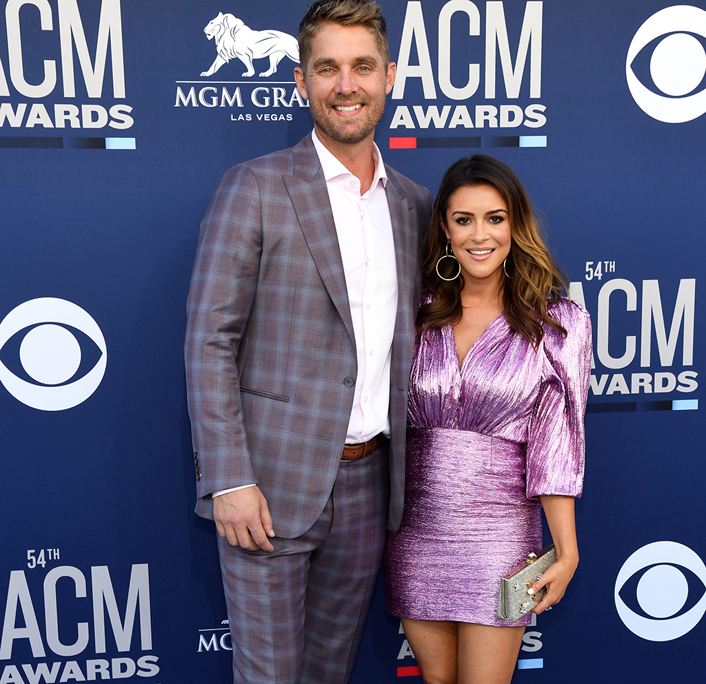 Brett Young And Taylor Mills Pose Together