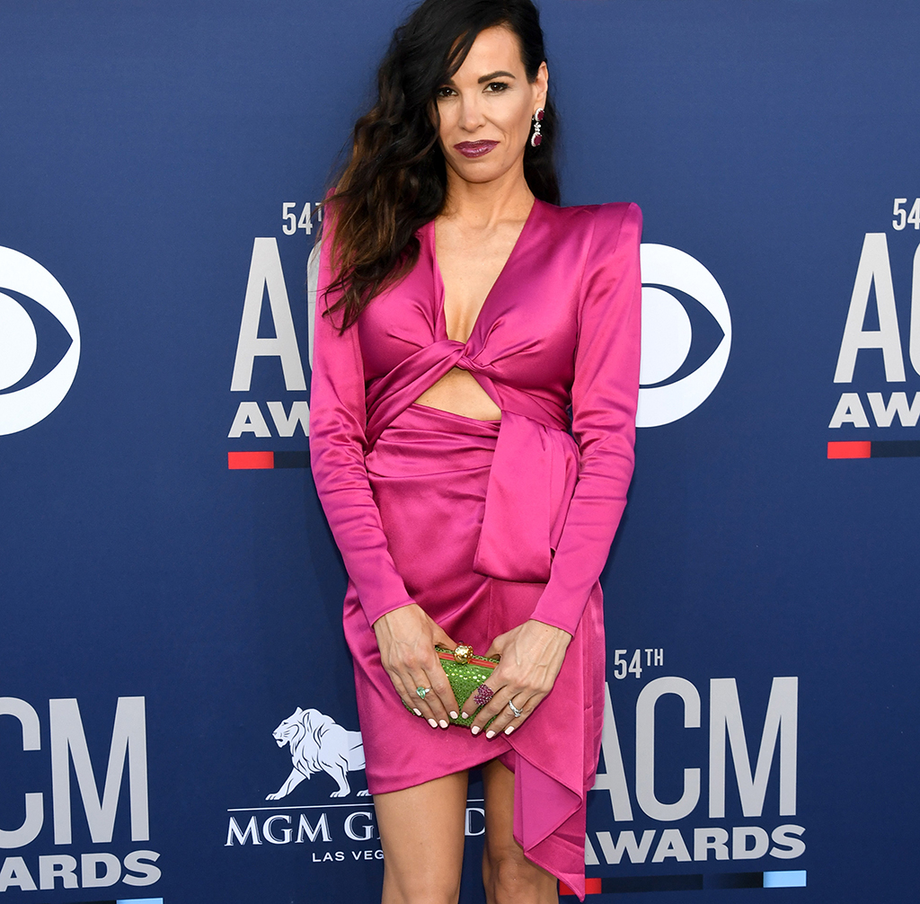 Cassidy Black Outside Of The ACM Awards