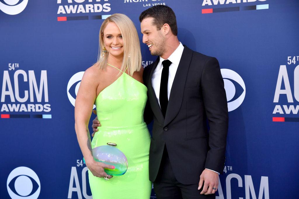 Miranda Lambert Poses With Her Husband