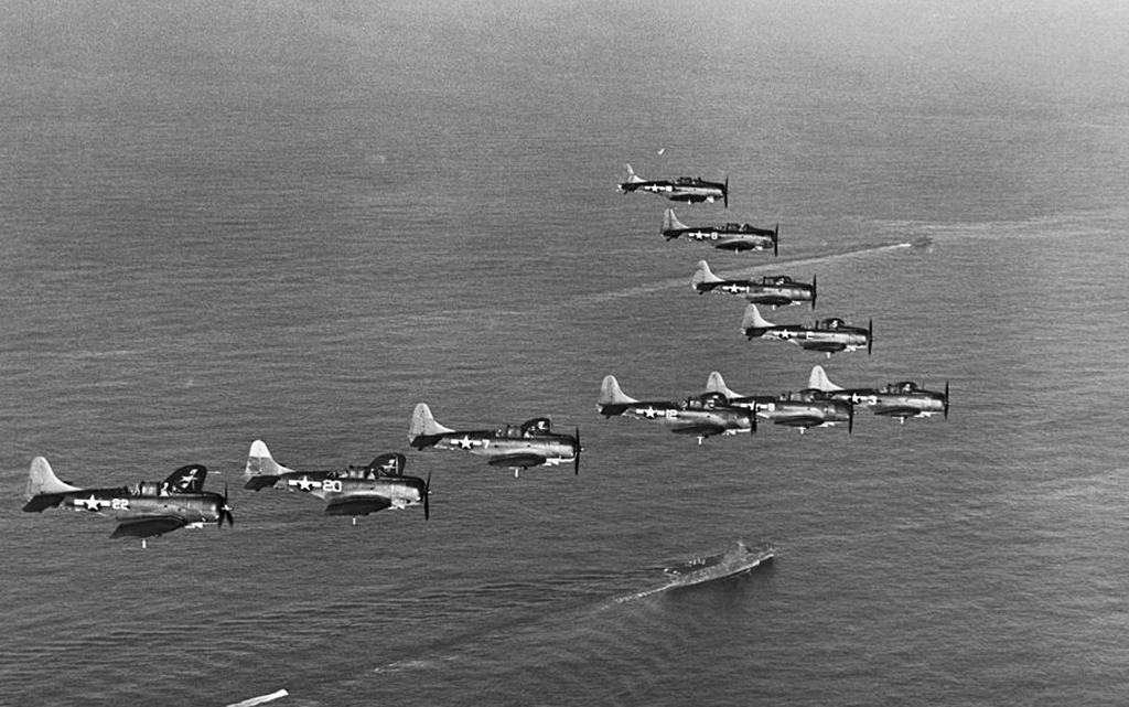 SBD Dive Bombers