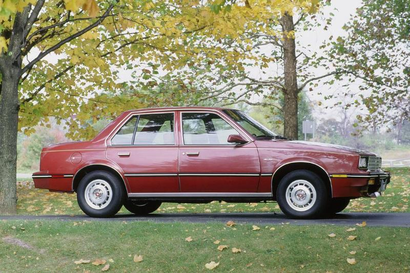 Cadillac Cimarron Was Double The Price Of A Similar Car
