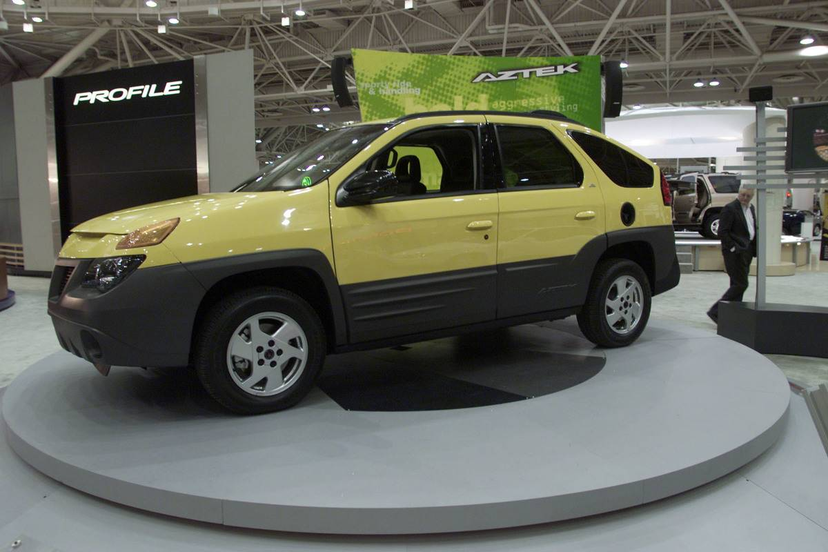 Car Lovers Hated The Pontiac Aztek When It Was Announced