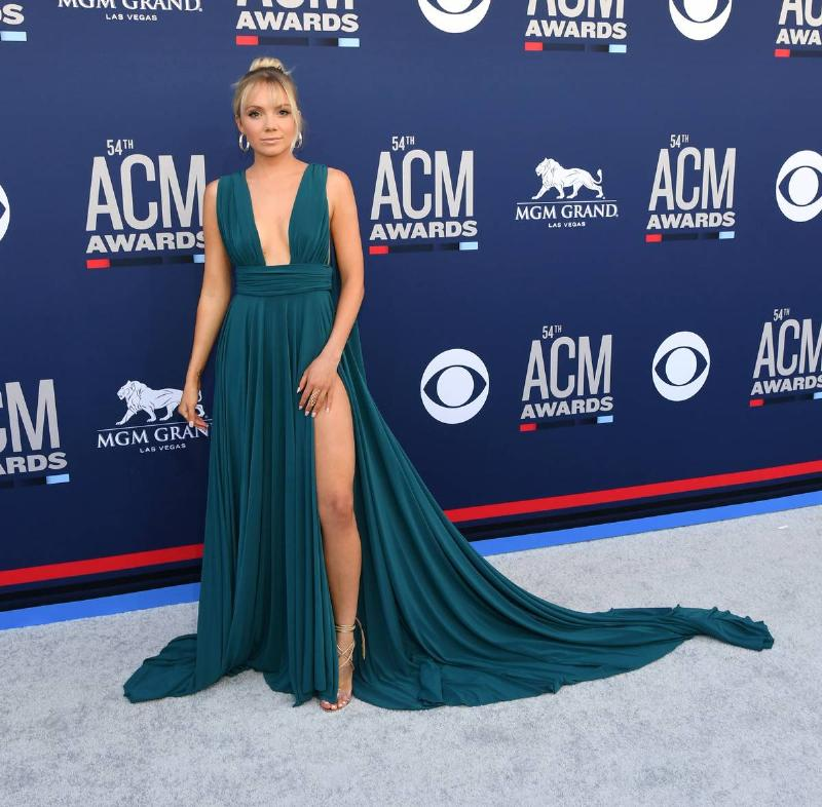 Danielle Bradbery appears on the ACM 2019 red carpet.