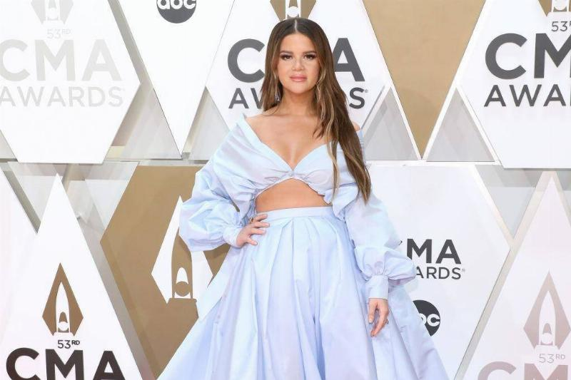 Did Maren Morris Wear Blue For Her Baby Boy On The Way