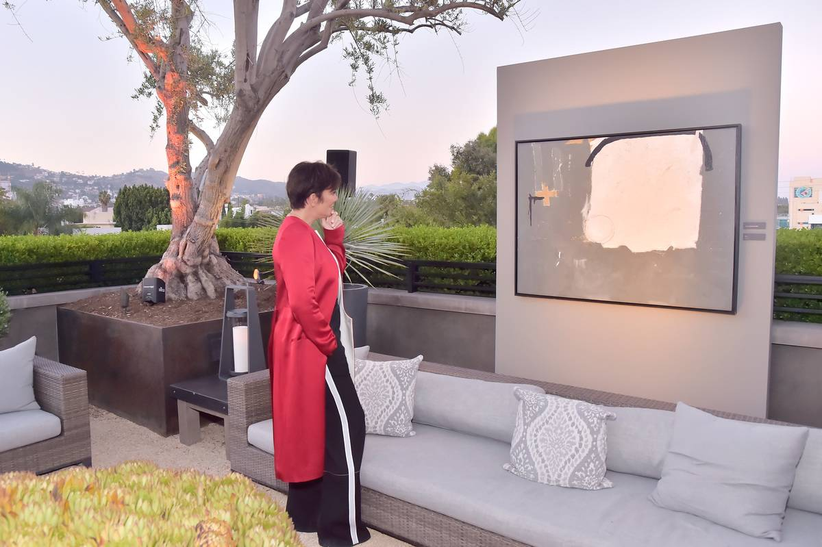 kris jenner at outdoor event in LA