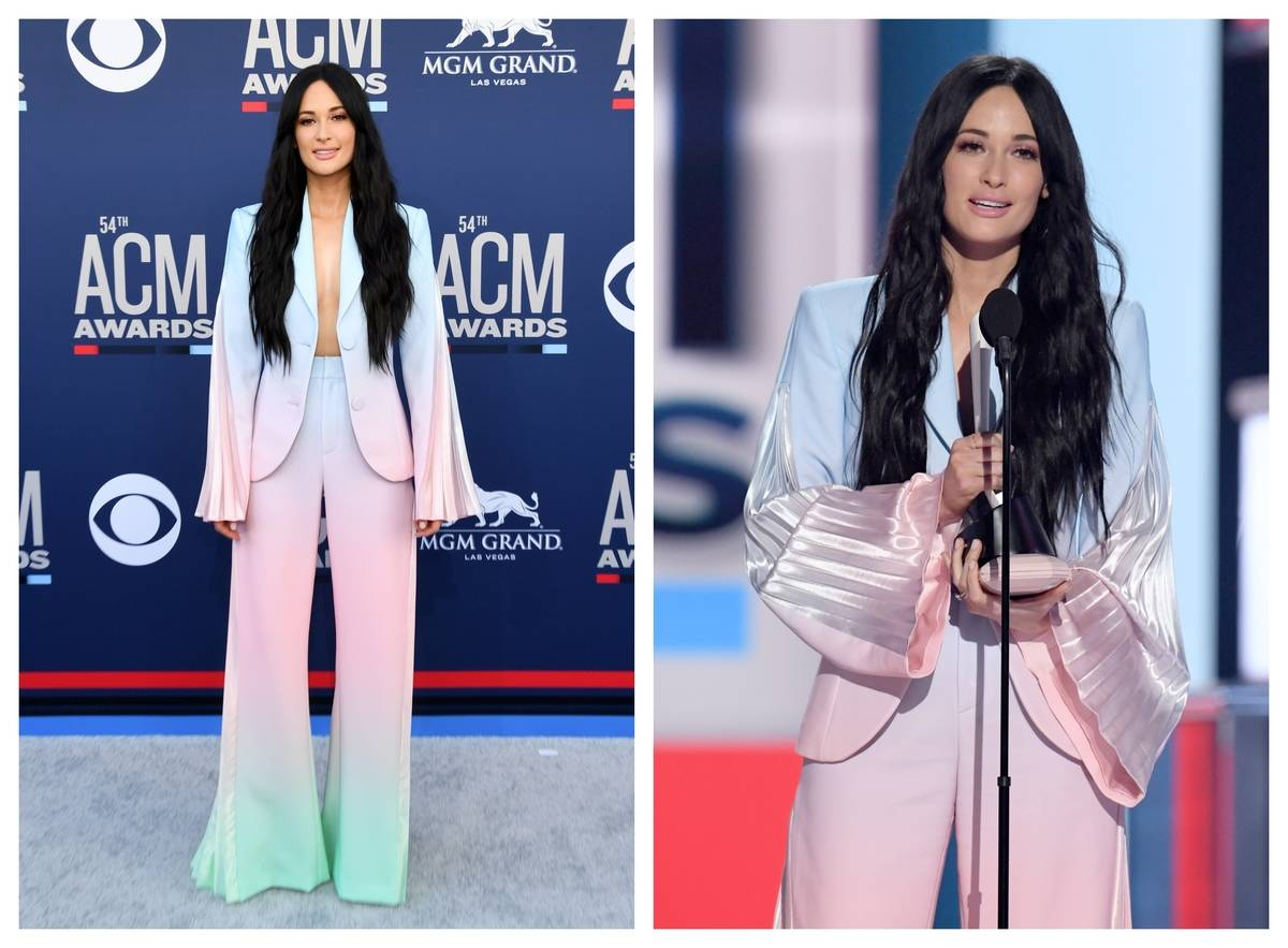 Kacey Musgraves appears at the 2019 ACM Awards