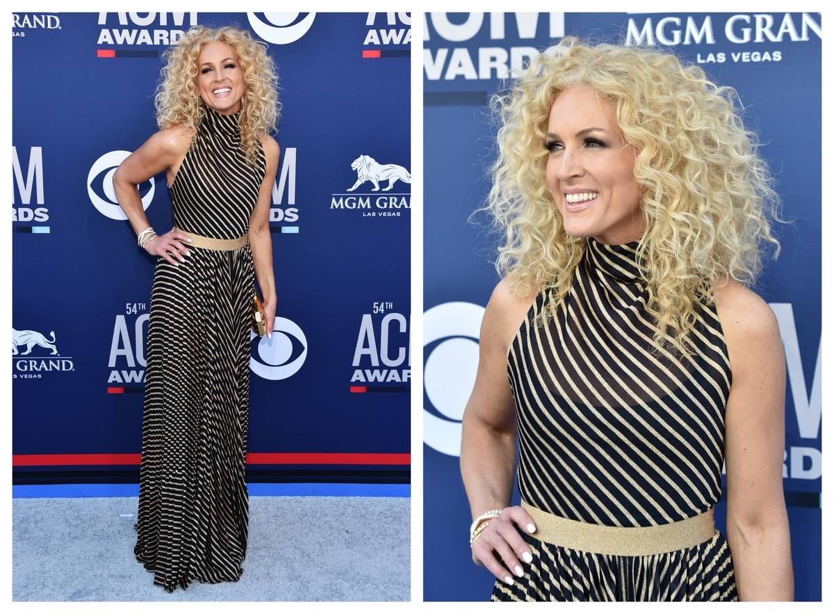 Kimberley Schlapman is seen at the ACM 2019 Awards.