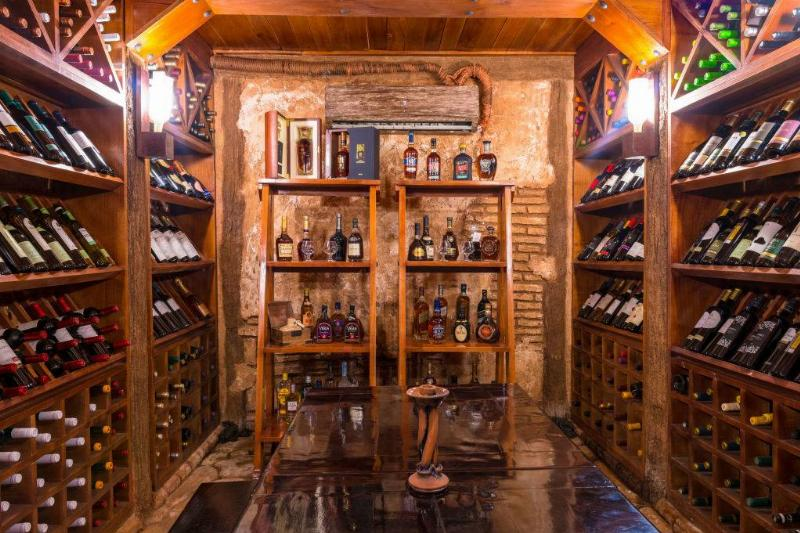 Picture of a wine cellar
