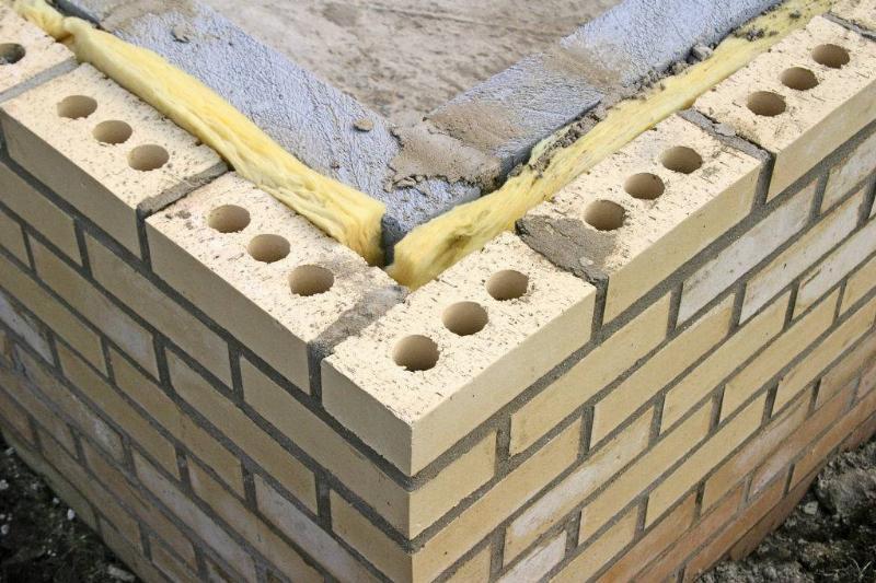 Picture of cinder blocks