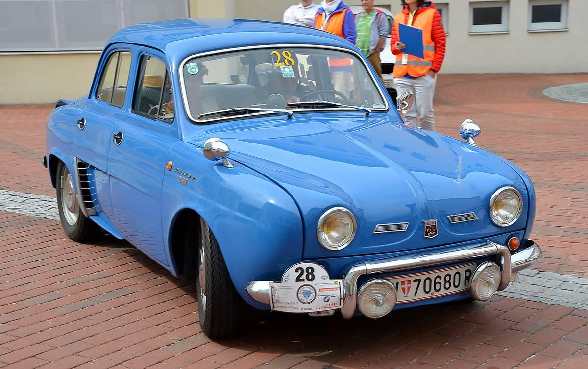 Renault Dauphine Was A Rattling Slow Mess