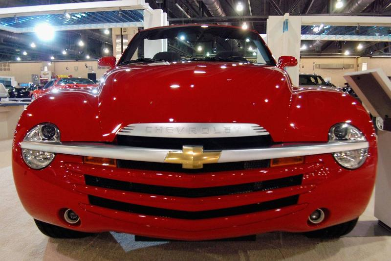 The 2004 Chevy SSR Was All Flash