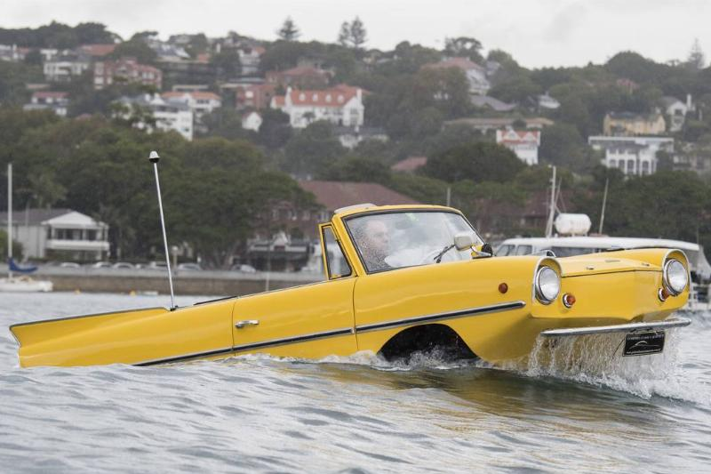 The Amphicar Was Only Cool On Paper