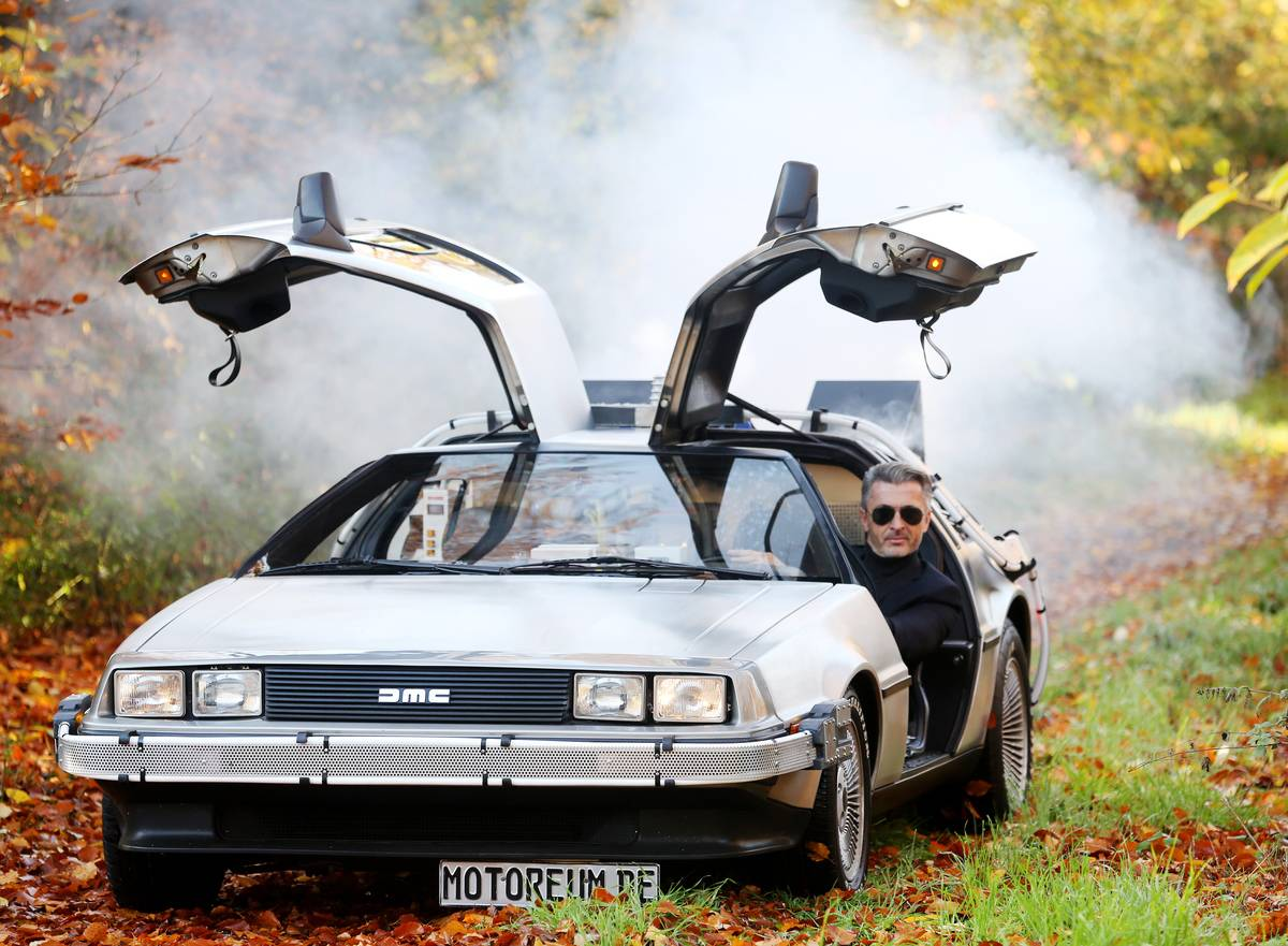 The DeLorean DMC-12 Looked Cooler In The Movies