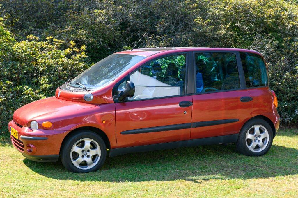 The Fiat Multipla Looked Like An Optical Illusion