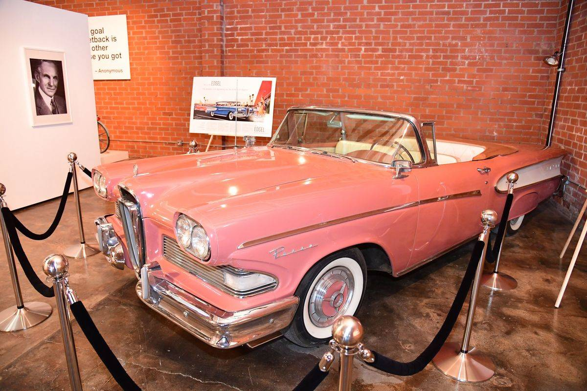 The Ford Edsel Was A Commercial Failure
