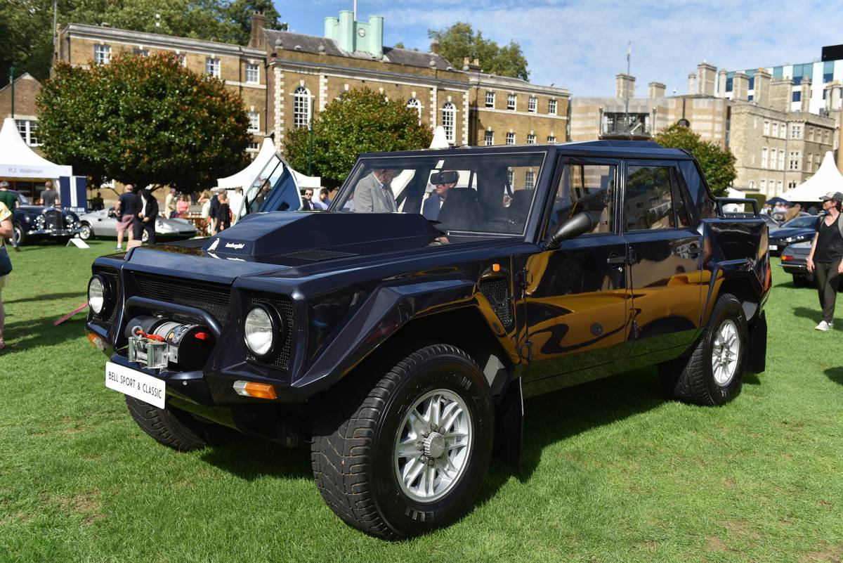 The Lamborghini LM002 Off-Roading Truck No One Asked For