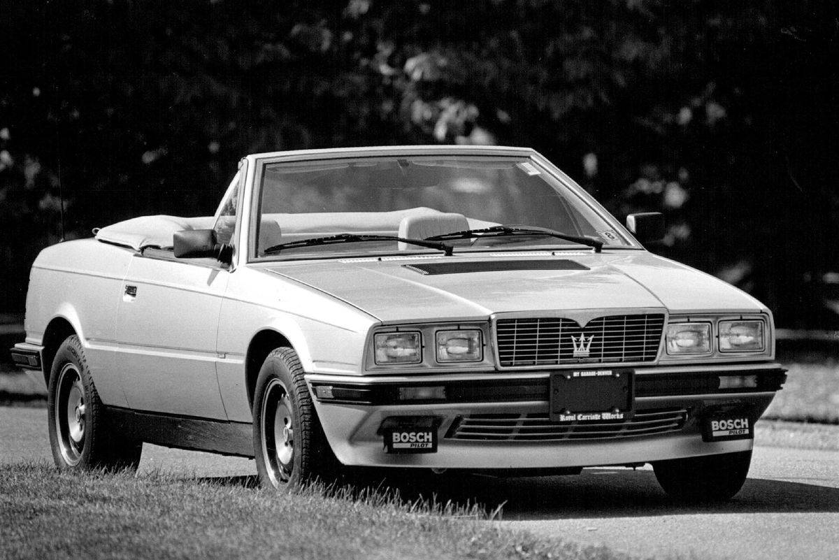 The Maserati Biturbo Was Affordable For A Reason
