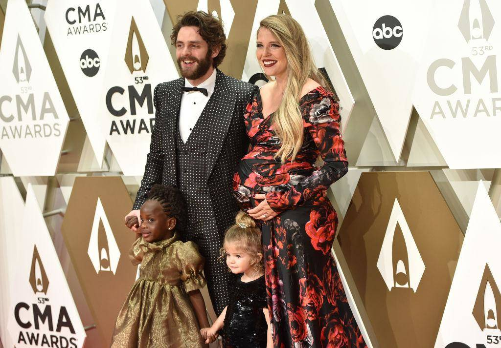 Thomas Rhett and Lauren Atkins Make It A Family Affair