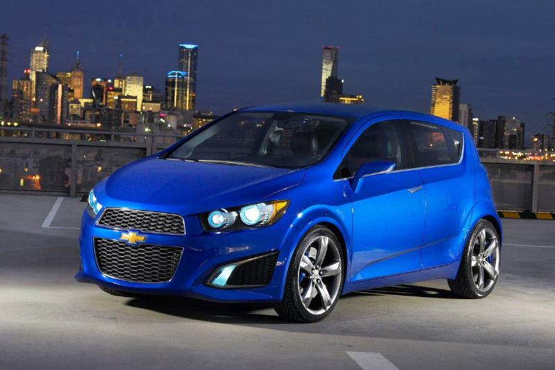Chevrolet Introduces The Aveo RS Show Car