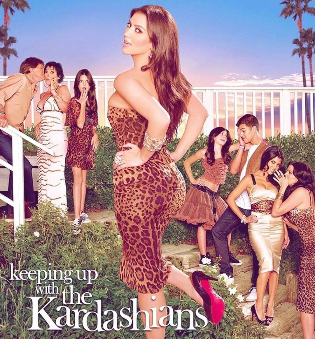keeping up with the kardashians early season poster