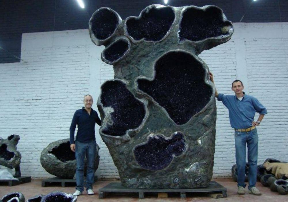 A Giant Amethyst Geode