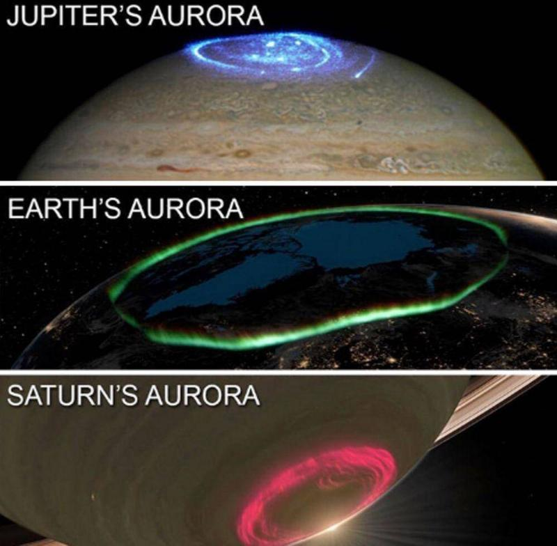 Auroras Occur On Multiple Planets, And Each Looks Different