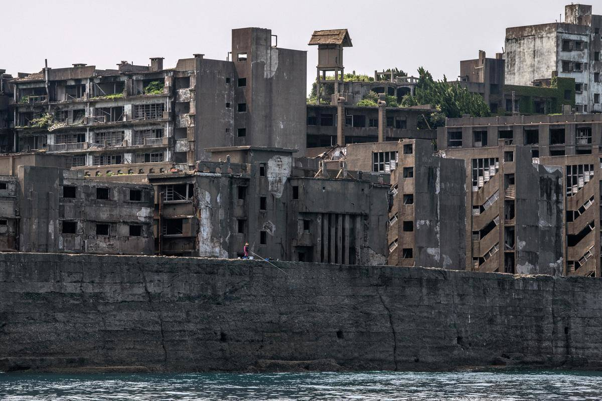 Gunkanjima In Nagasaki, Japan
