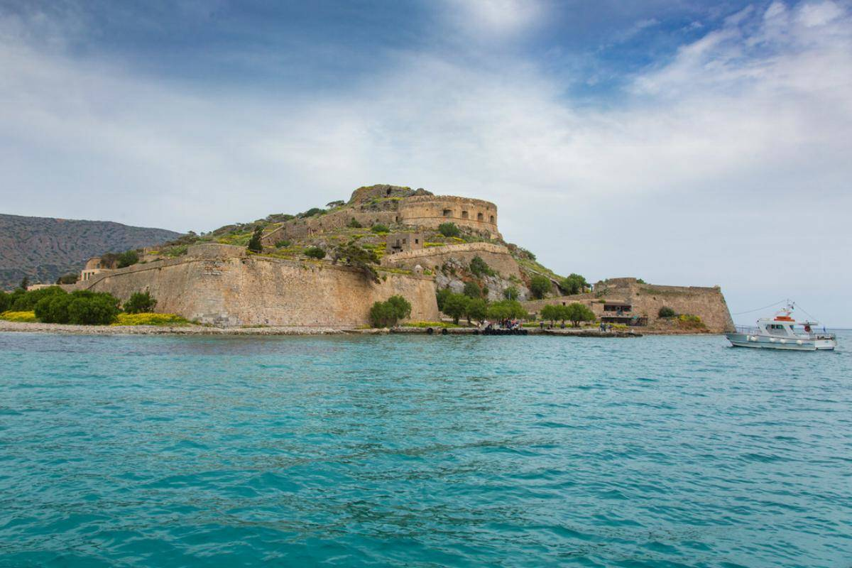 Spinalonga In Crete, Greece